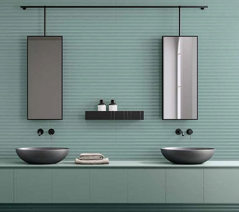 decorative bold feature wall tiles