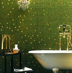 bisazza glass mosaics gold blends
