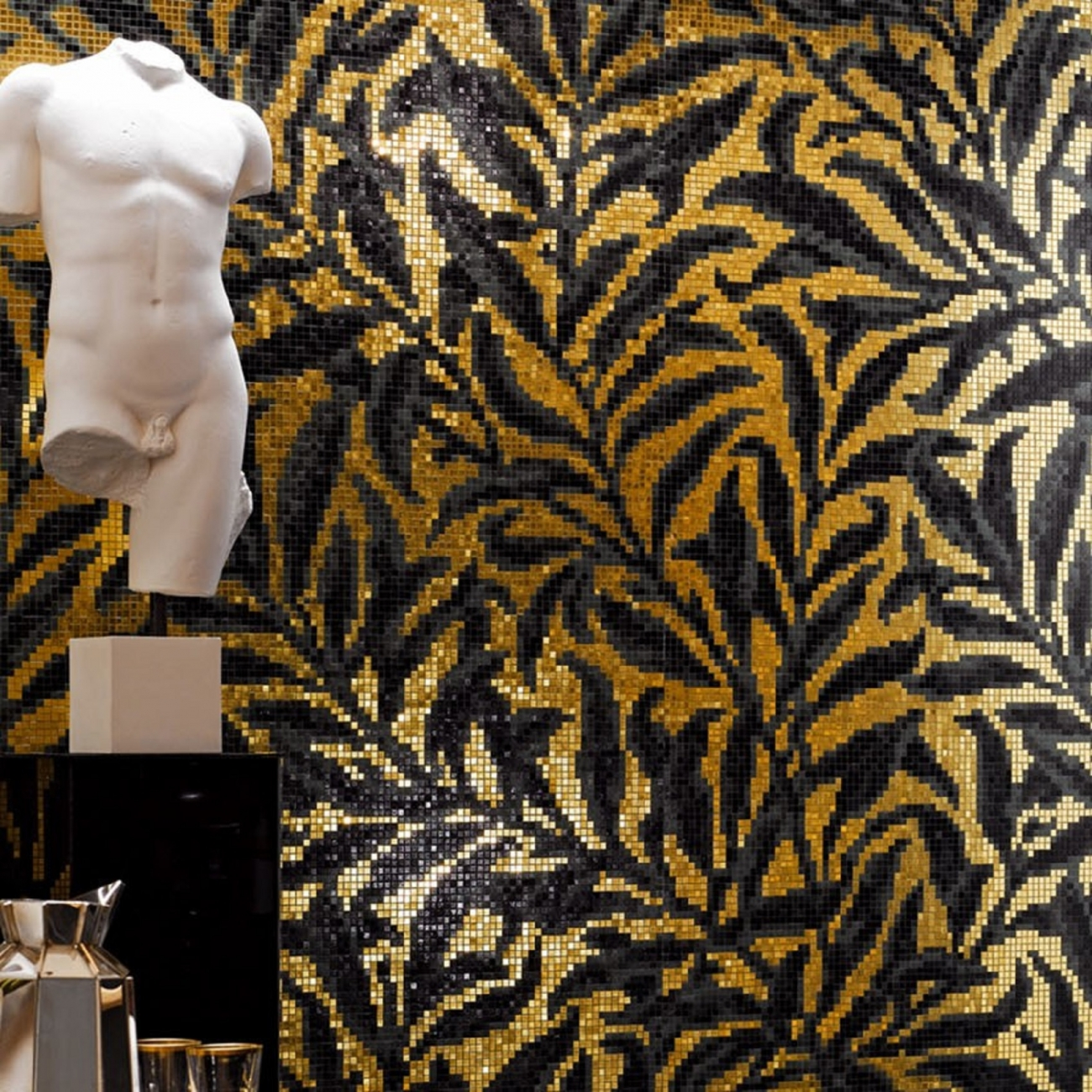 bisazza morris luxe decroation