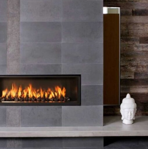 bluestone fireplace