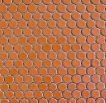 Penny Round Gloss Orange Image