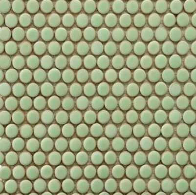 Penny Round Lime Green Image
