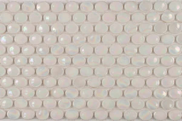Penny Round Pearl White Image