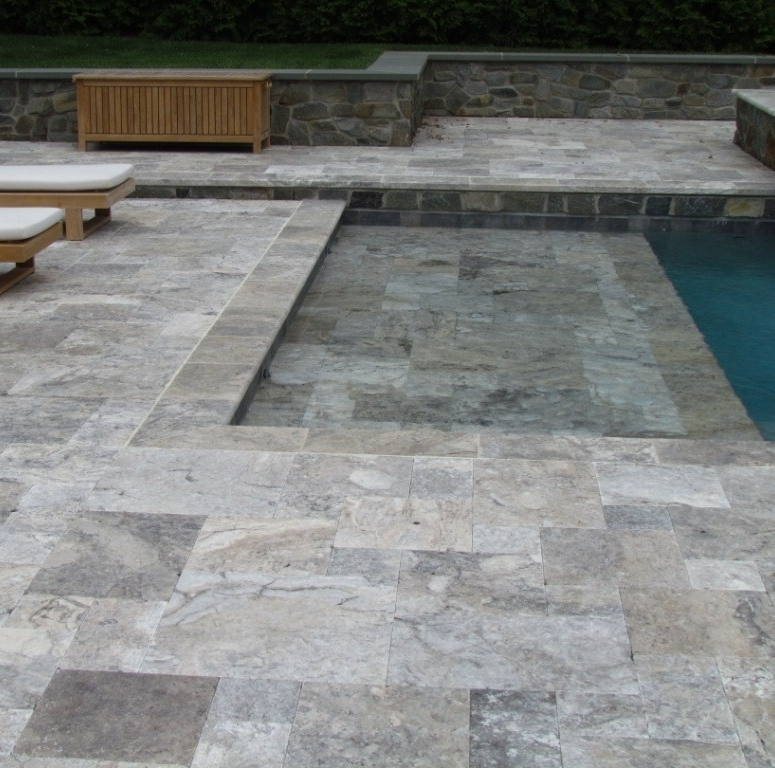 Silver Travertine Ext Image
